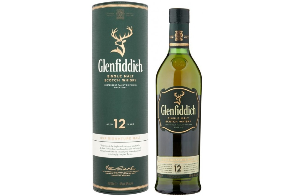 Виски Glenfiddich 12 Years Old, 0.75 л